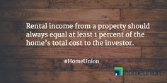 Reason 2 of 8 to invest in fully managed single family real estate with HomeUnion. www.HomeUnion.com