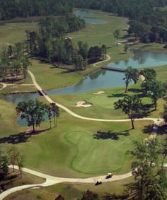 Doesn't this aerial view of Woodforest Golf Club make you want to dust off your golf clubs?