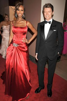 Power Couple. Iman and David Bowie, 2008.