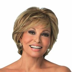 Applause by Raquel Welch Wigs - Human Hair, Monofilament, Lace Front Wig Short Thin Hair, Short Hair With Layers, Layered Hair, Short Hair Cuts, Short Hair Styles, Short Bobs, Short Blonde, Older Women Hairstyles, Wig Hairstyles