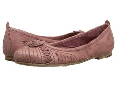 Frye Carson Concho Ballet Grey Smooth Vintage Leather - Zappos.com Free Shipping BOTH Ways