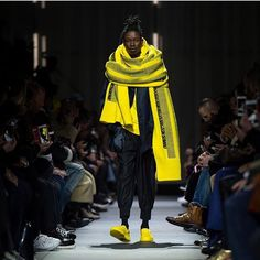 Y-3 AW18 yellow and black colors by yohji yamamotos Y-3 team leading the category of top designer and premium streetwear labels. #y3 #adidas #yojiyamamoto #akenz #akenzpopup #aw18 #yojicollection #pittiuomo #fashion #design #apparel #newdesign #newyork #shanghai #beijing #copenhagen #上海 #北京 #苏州 #杭州 #AKENZ集合店 #集合店 #设计 #北欧风格 #哥本哈根