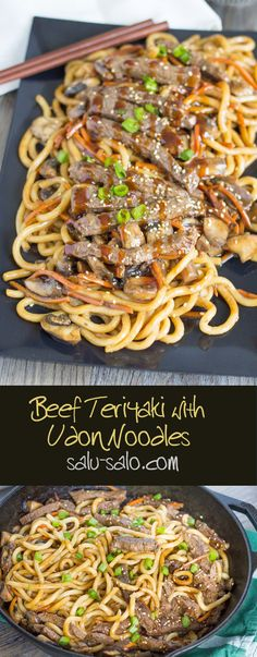 Beef Teriyaki Udon More