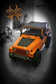 Orange wrap, burnt orange wrap, orange vinyl, orange jeep, jeep wrap, vehicle wrap, offroad jeep, jeep offroad, vinyl wrap, vinyl vehicle wrap, black and orange, orange, offroad, offroad wheels Jeep Tj, Jeep Wrangler Tj, Wrangler Unlimited, Jeep Truck, Orange Jeep, Orange Orange, Burnt Orange, Jeep Camping, Car Wrap