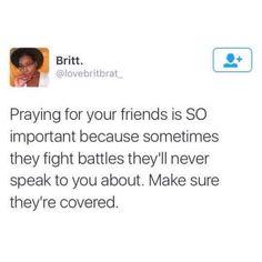 Pray for your enemies too!  Pinterest: boricuaqueen7