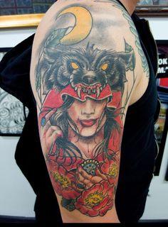 Hood Tattoo: Tattoo Ideas Riding Hoods Tattoo Shit Red Riding Hood ...