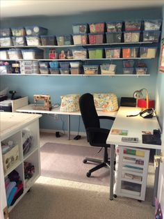 Office / Sewing Room refinish