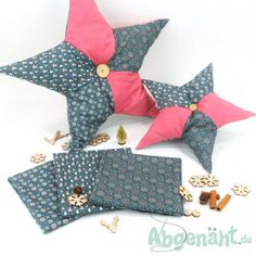 Baumwollstoffe Wintermotiv | Stoffpaket 1,5m | Mint - Stoffe,Schnittmuster, Nähzubehör und Nähmaschinen, 14,85 € Backrest Pillow, Winter, Pillows, Diy Sewing Projects, Cotton Textile, Stars, Sewing Patterns, Cotton, Winter Time
