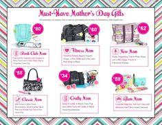 Mother's Day Gifts with Thirty-One ( www.mythirtyone.com/jenntruppa )