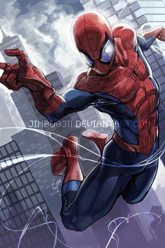 Spider-Man,  Cartoons & Comics, Character, Fan Art, Games, Movies & TV, Paintings & Airbrushing, Spiderman, Superhero