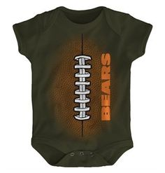 a4d6bd51688d9f Mini Football Creeper Bear Shop, Big Bear, Chicago Bears, Kids Hats,  Creepers