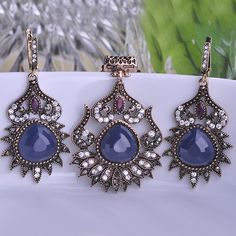 Cheap necklace retail, Buy Quality necklace jewelry directly from China necklace outlet Suppliers: 2015 New Arrival Luxurious Turkish Jewelry SetsMysterious Brand DesignerJewelrySet&n