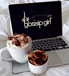 The lazy days with chocolate and gossip girl. You know,you love me.