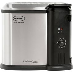 Butterball Electric Turkey Fryer Fries turkeys up to 14 lbs Thanksgiving Dinner #Butterball
