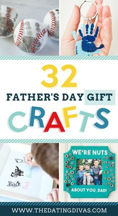 DIY Father's Day Crafts and Gifts- so many idea for gift ideas for dad for Father's Day #fathersday #fathersdaygifts #fathersdaycrafts #datingdivas