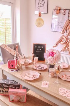 hen party hen do hen do ideas ginger ray ginger ray team bride decorations ginger ray hen do decorations wedding planning Hen Party Decorations, Bachelorette Party Decorations, Hens Party Themes, Party Kit, Ideas Party, Classy Hen Party Ideas, Classy Hen Do, Bride Party Ideas, Gift Ideas