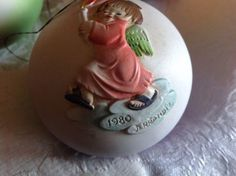 ANRI-Ferrandiz-Hand-carved-Limited-Edition-1980-Christmas-Ornament