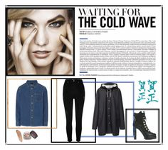 """Waiting for the cold wave"" by holkil ❤ liked on Polyvore featuring Dsquared2, Stutterheim and River Island"