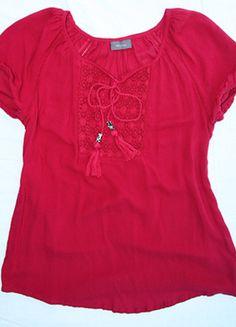 Kup mój przedmiot na #vintedpl http://www.vinted.pl/damska-odziez/bluzki-z-krotkimi-rekawami/14325216-letnia-rozowa-bluzka-ca-ze-zdobieniem