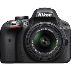 Nikon D3300 24.2 MP Digital SLR Black Camera with 18-55mm VR II Lens (Refurbished) Bundle includes camera, 18-55mm lens, 16GB memory card, memory card wallet, card reader, gadget bag, 57-inch tripod, training DVD, HDMI cable, shutter remote control, and more  Bundle Includes D3300 DSLR 24.2 MP HD 1080p Camera Black – FACTORY REFURBISHED AF-S NIKKOR 18-55mm f/3.5-5.6G VR II DX Lens – FACTORY REFURBISHED 3 Piece Lens Cleaning Kit Memory Card Wallet Hi-Speed SD USB 2.0 Card Reader Compa..