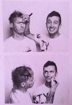 "Tyler Joseph and Joshua Dun | twenty one pilots | Alternative  Press | ""It's us against the world."""