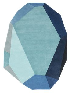 Beautiful rug. By Anne Lehmann for Normann Copenhagen.