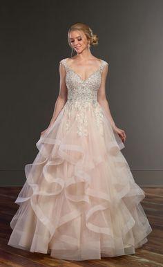 dffa62cdb Featured Dress  Martina Liana  Wedding dress idea.