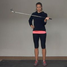 The Wrist Pronation and Supination (Reverse Grip) Exercise is a great way to build strength in your forearms, helping you to control the gol...