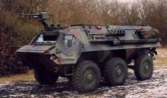 The Fuchs 2 armoured personnel carrier is a new version of the 6x6 Fuchs (Fox) Transportpanzer 1. The vehicles are built by Rheinmetall Landsysteme, based in Kiel and Kassel in Germany.