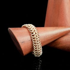 European 4 - 1 Solid Bronze Brass Stainless Steel or Copper Chainmaille Ring Kit - Just Beyond Beginners and Intermediate by CreatingUnkamen - Jewelry supplies - jewelry making - jewelry supply - diy jewelry Diy Jewelry Rings, Jewelry Making, Handmade Jewelry, How To Make Rings, Copper, Brass, Ring Set, Chainmaille, Unique Rings