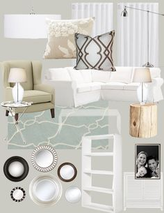 1000 ideas about living room on pinterest pink walls Light airy paint colors