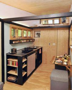 Cedar Small Kitchen