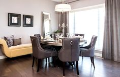 A fantastic and roomy eating nook