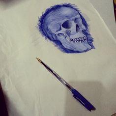 Anatomy Study, Skull Art, Watercolor Tattoo, Tattoos, Kunst, Tatuajes, Tattoo, Skulls, Temp Tattoo