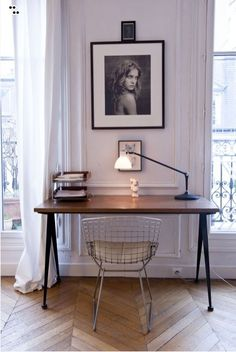Source: The Socialite Family Ahhh the Bertoia Wire chair. A classic. You can pick one up from Knoll. Remember to support original design! Say no to fakes!