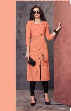 58 Ideas how to wear hats women dresses for 2019 Kurta Designs Women, Kurti Designs Party Wear, Blouse Neck Designs, Party Wear Kurtis, Kurti Embroidery Design, Kurti Collection, Dresses With Leggings, Indian Designer Wear, Fashion Outfits