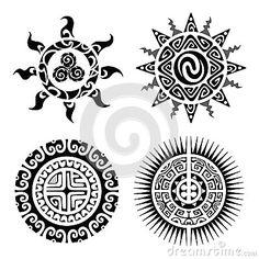Tatuagem tradicional de Maori Taniwha