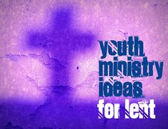 RETHINKING YOUTH MINISTRY: Lent Ideas for Youth Ministry 2013: Self Portrait