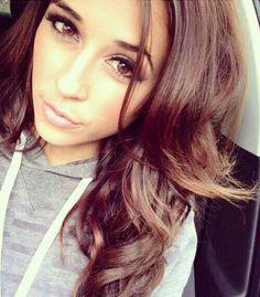 Brown hair, brown eyes