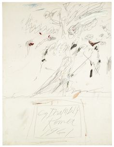 Cy Twombly (American, 1928 Untitled (Rome), Oil, wax crayon and pencil on canvas, x cm. Robert Rauschenberg, Cy Twombly, Abstract Expressionism, Abstract Art, Abstract Paintings, Wax Crayons, Fox Art, Still Life Photography, Contemporary Paintings