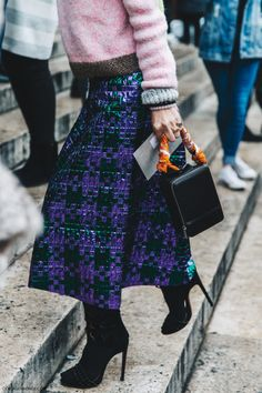 Pfw Paris Fashion Week Fall 2016 Street Style Collage Vintage Stella Mccartney
