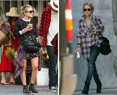 The Olsen twins, style icons when it comes to 90s fashion.