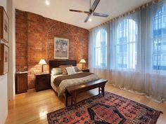 Warehouse conversion bedroom