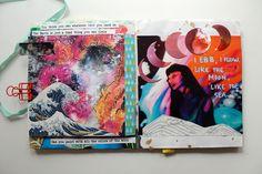punk projects: An Elements Art Journal Zine
