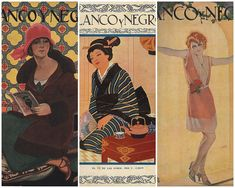 Spanish magazine Blanco y Negro covers from the 1920s and 30s | Courtesy: Art Deco blog
