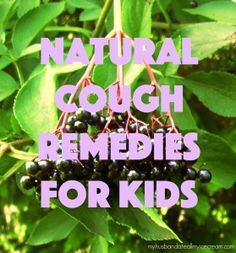 Natural Cough Remedies for Kids - My Husband Ate All My Ice Cream