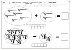 fise matematica dificultate ridicata 5-7 ani   Cu Alex la gradinita Math Equations, Math For Kids, Worksheets, Diagram, Education, Christians, Literacy Centers, Onderwijs, Learning