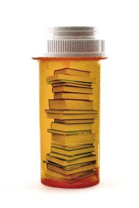 A new service that prescribes a reading list based on your psychological state/goals instead of drugs.