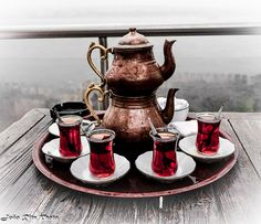 Turkish tea is one of the most important parts of Turkish hospitality.