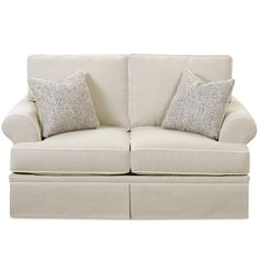 Westerly Casual Love Seat by Klaussner at Hudson's Furniture